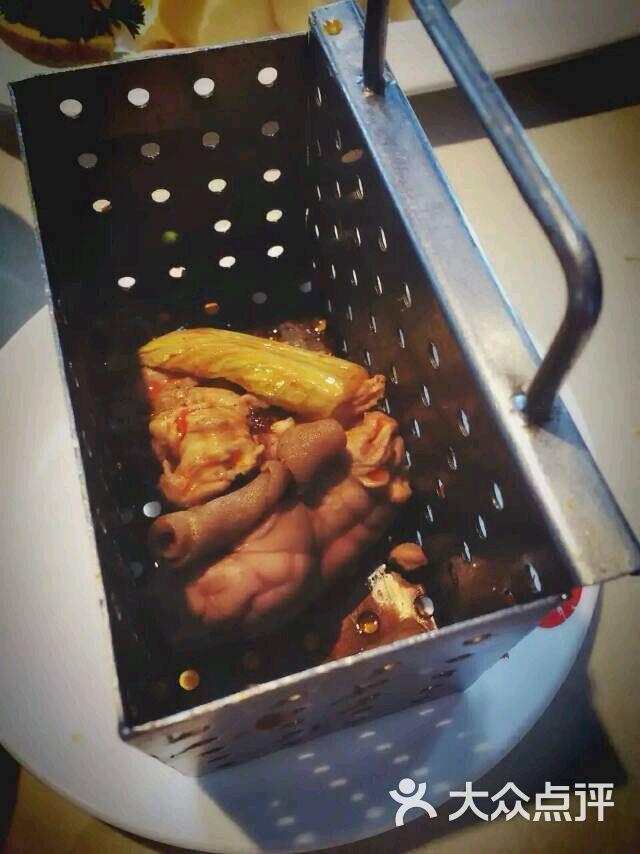 海底捞火锅猪脑花图片 - 第1张