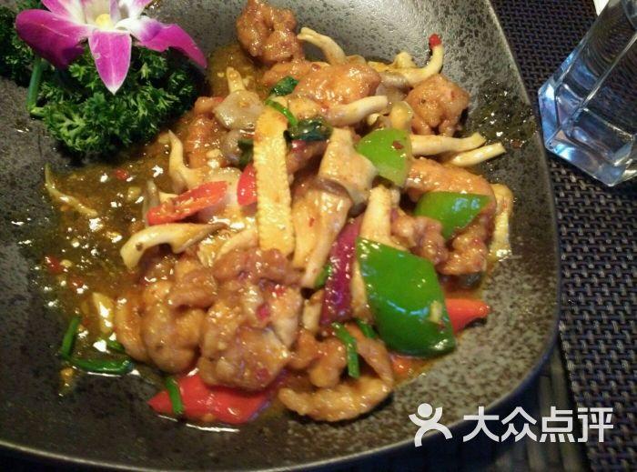 塔顶泰国时尚餐厅(大学路店)-九层塔鸡肉图片-上海