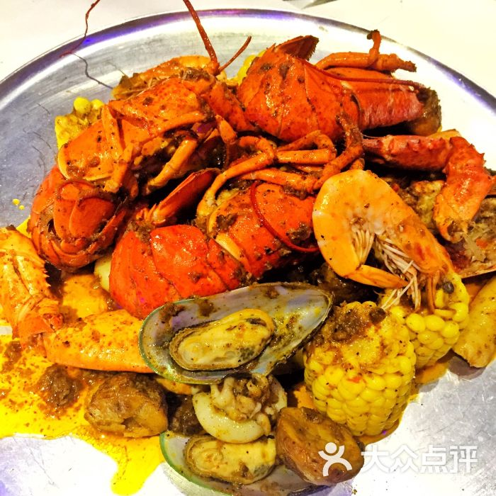 8号水产市场海鲜店(远洋太古里店)波士顿龙虾套餐图片 - 第4张